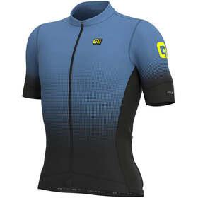 Alé Cycling PRS Dots Maillot Manga Corta Hombre, black/dust grey